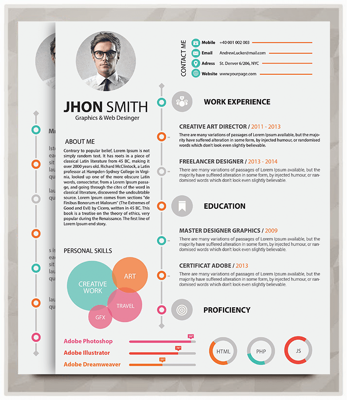 Download Our Featured Resume Samples Online Cv Builder 20 Best Resume Template In 2015 – Graphicstoll