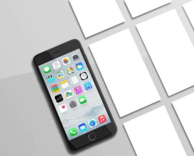 iPhone Mockup - Mockup Templates Images Vectors Fonts Design