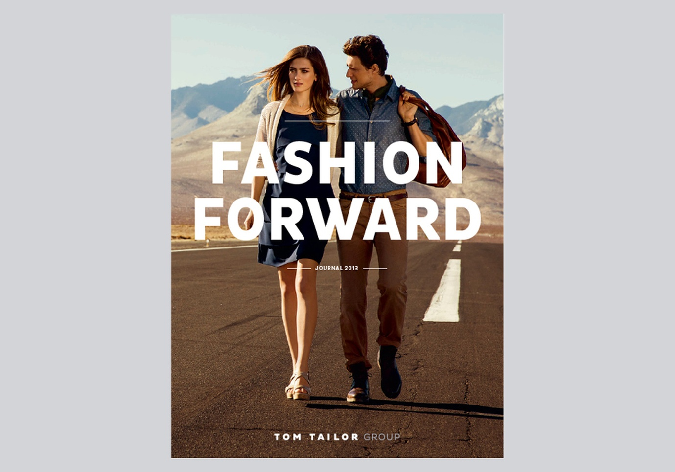 Tom Tailor Winter Love A Fashion Friend Tom Tailor Annual Report 2013 Fashion Forward Graphis