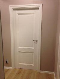 White and cream interior doors