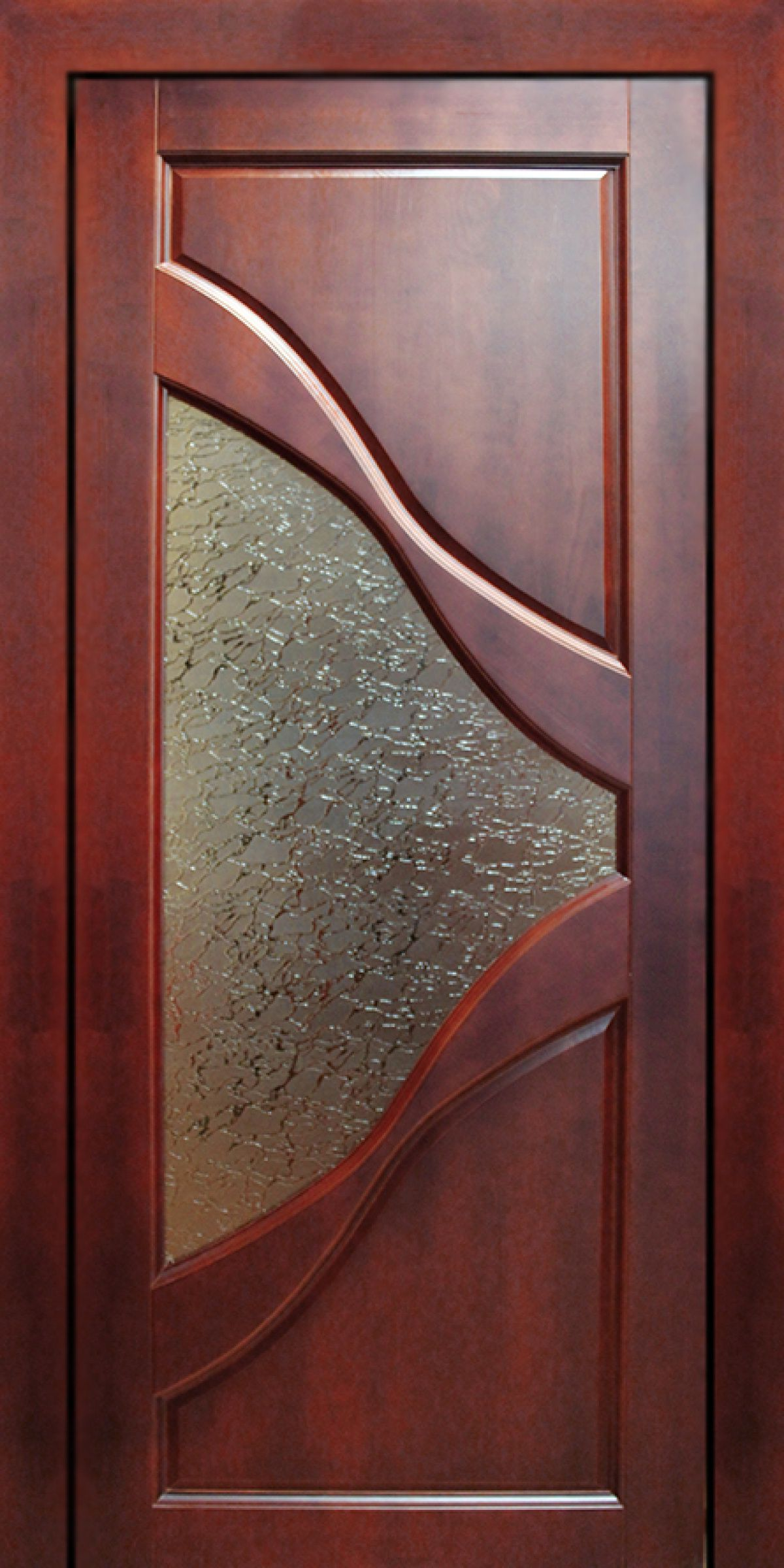 Door Designs With Glass Modern Wooden Door With Glass For Kitchen