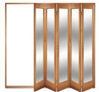 Trifold Door & ... Homely Ideas Tri Fold Closet Doors ...