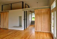 Double solid wood interior doors