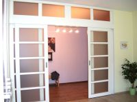 White sliding interior doors