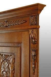 Luxury wooden interior doors classic style