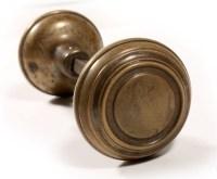 Vintage white porcelain door knobs