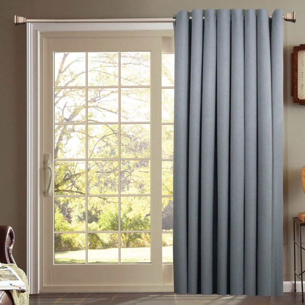 Sliding Door Curtain Curtains For French Doors