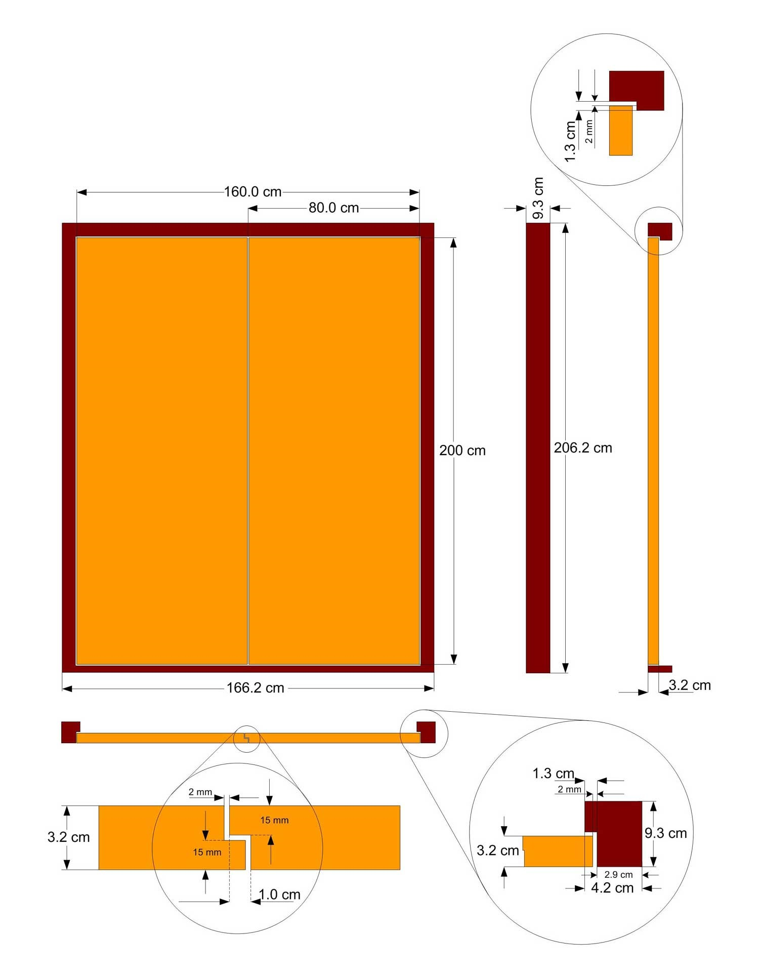 Standard Door Sizes Australia Double Door Size