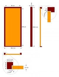 Standard Interior Door Sizes Australia | Decoratingspecial.com