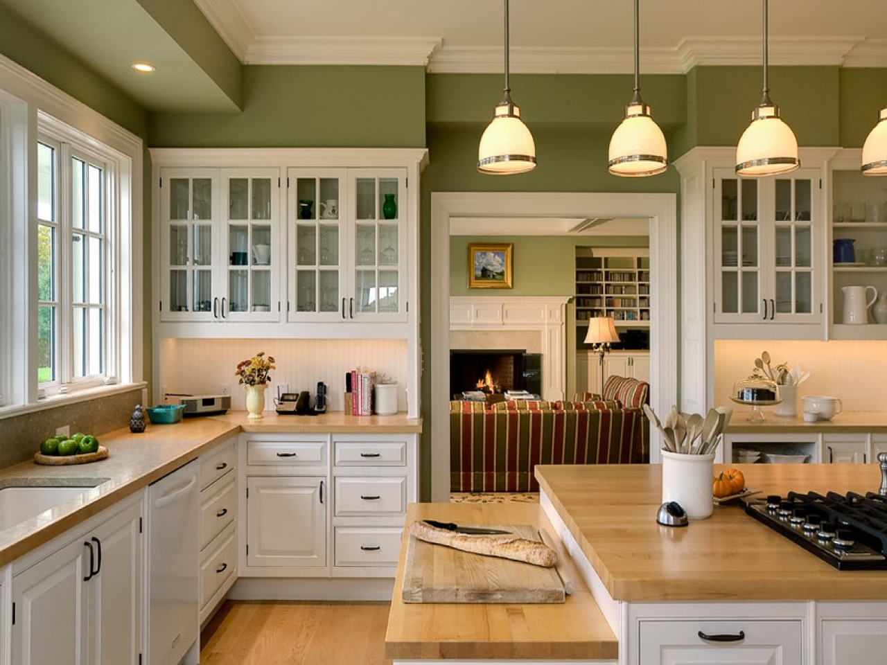 Country Looking Kitchen Cabinets Country Style Kitchen Design