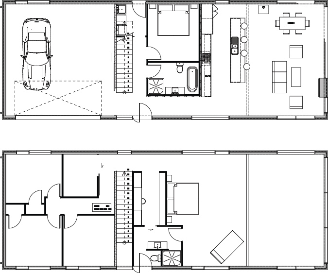 home construction winter drafts