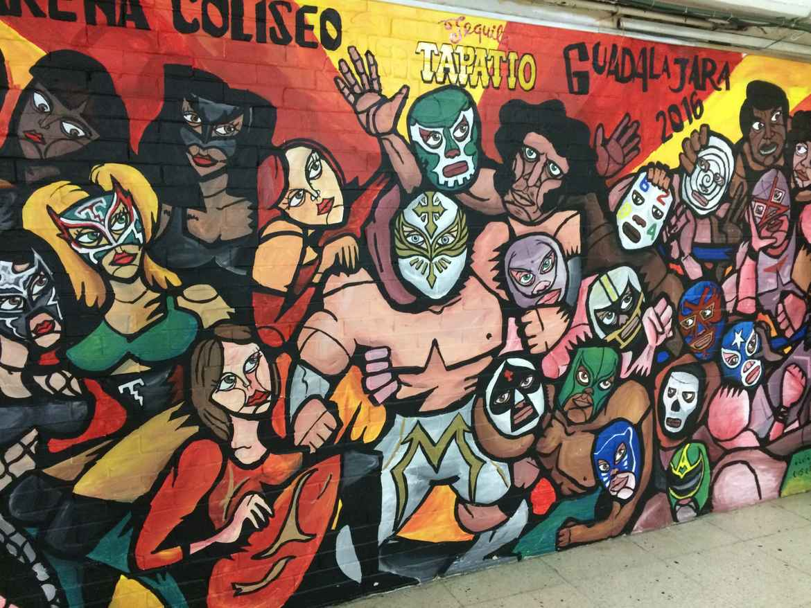 Lucha Libre Seeing Lucha Libre In Mexico Grateful Gypsies
