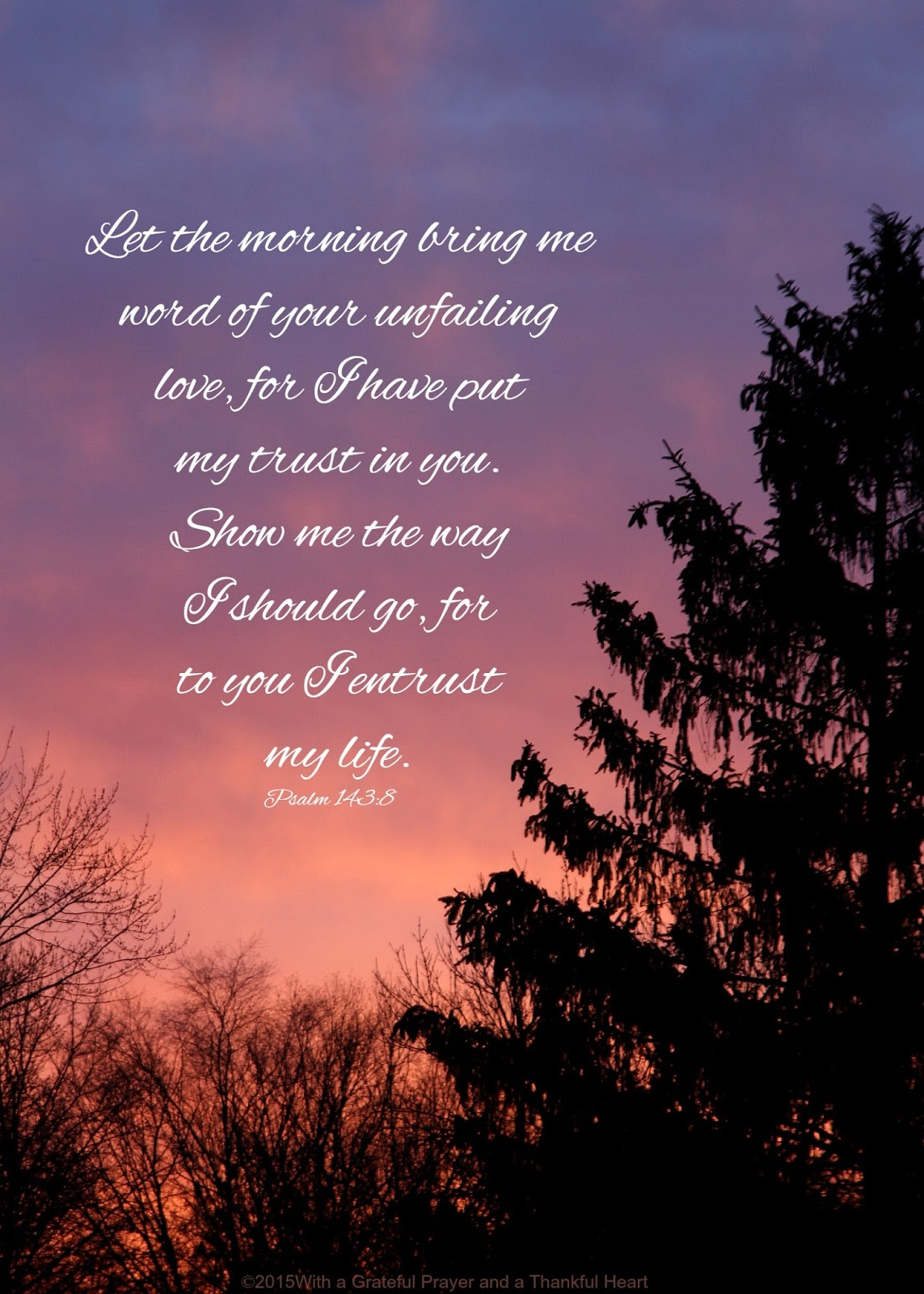 Sweet Wallpaper With Quotes Morning By Morning New Mercies I See Grateful Prayer