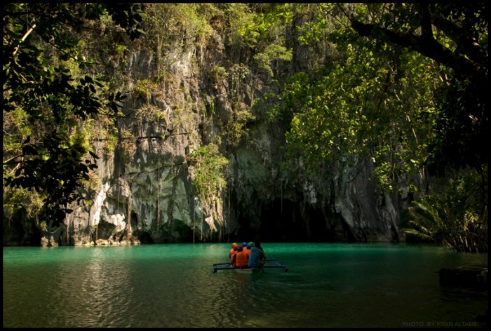 Puerto Princesa Subterranean River National Park (Photo by Ryan Altamera on Flickr)