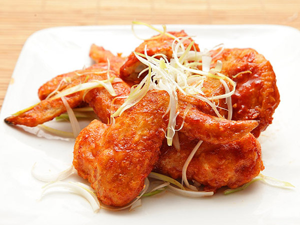 Chicken wing recipes: Korean fried chicken