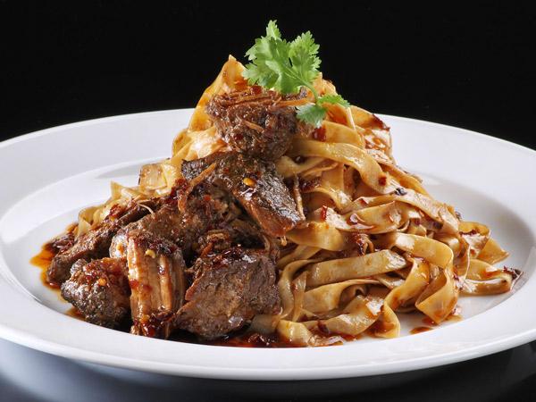 ba chor mee pasta at Ujong