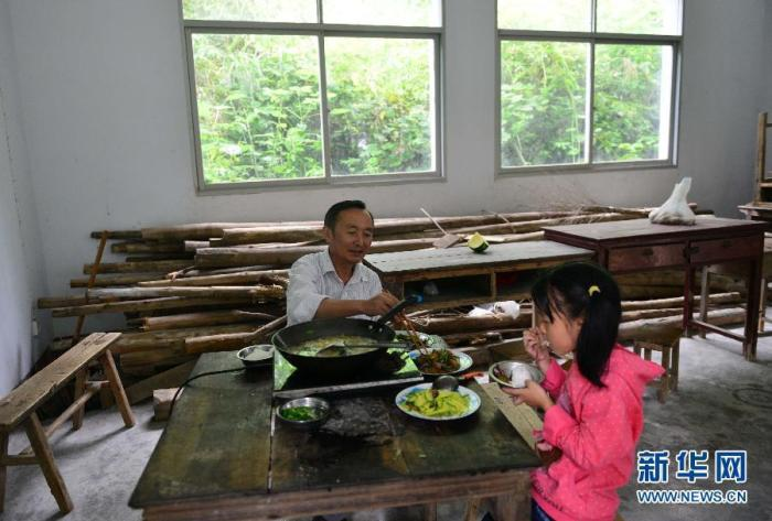 dining with teacher