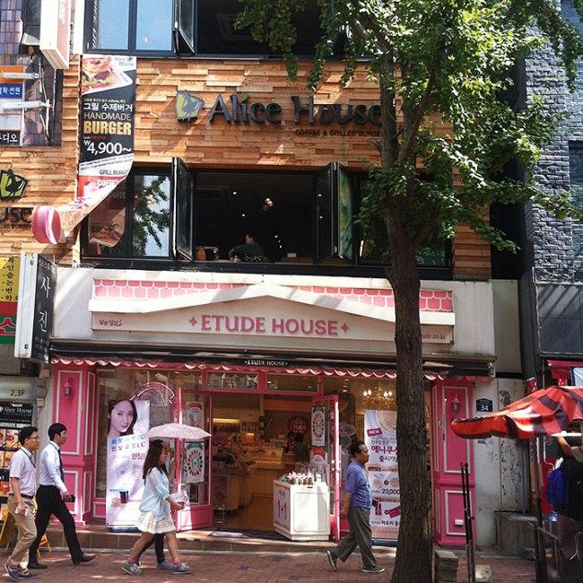 Beauty shopping in Seoul