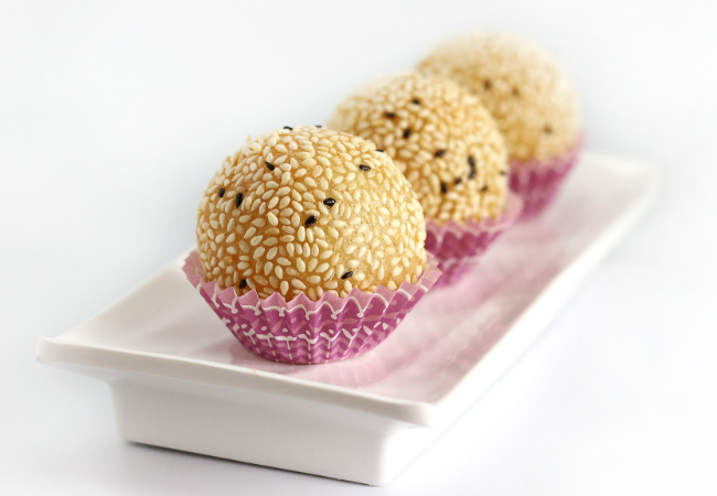 Prosperity Sesame Ball - Tim Ho Wan