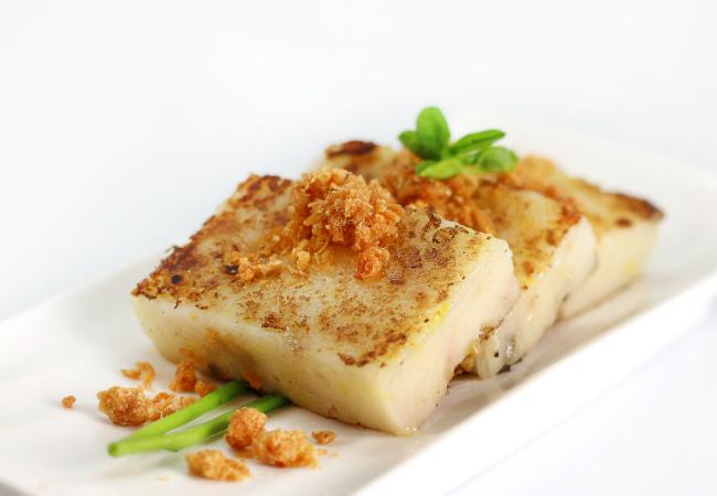Auspicious Cheese Cake - Tim Ho Wan