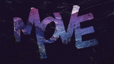 MOVE - Hand Lettered Desktop Wallpaper - Graticle