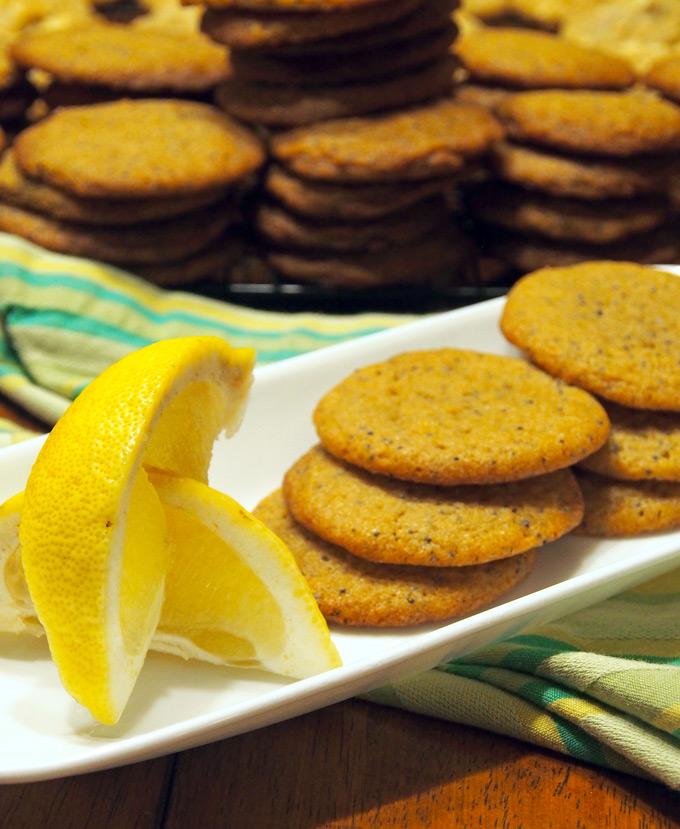 Lemon Poppy Seed Cookies – Gravel & Dine