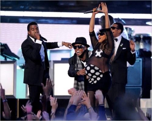 MIA Grammy performance