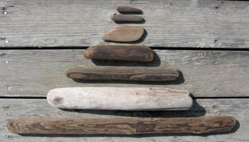 driftwood pyramid
