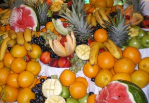Fruits of all kinds that can be used for fresh juices