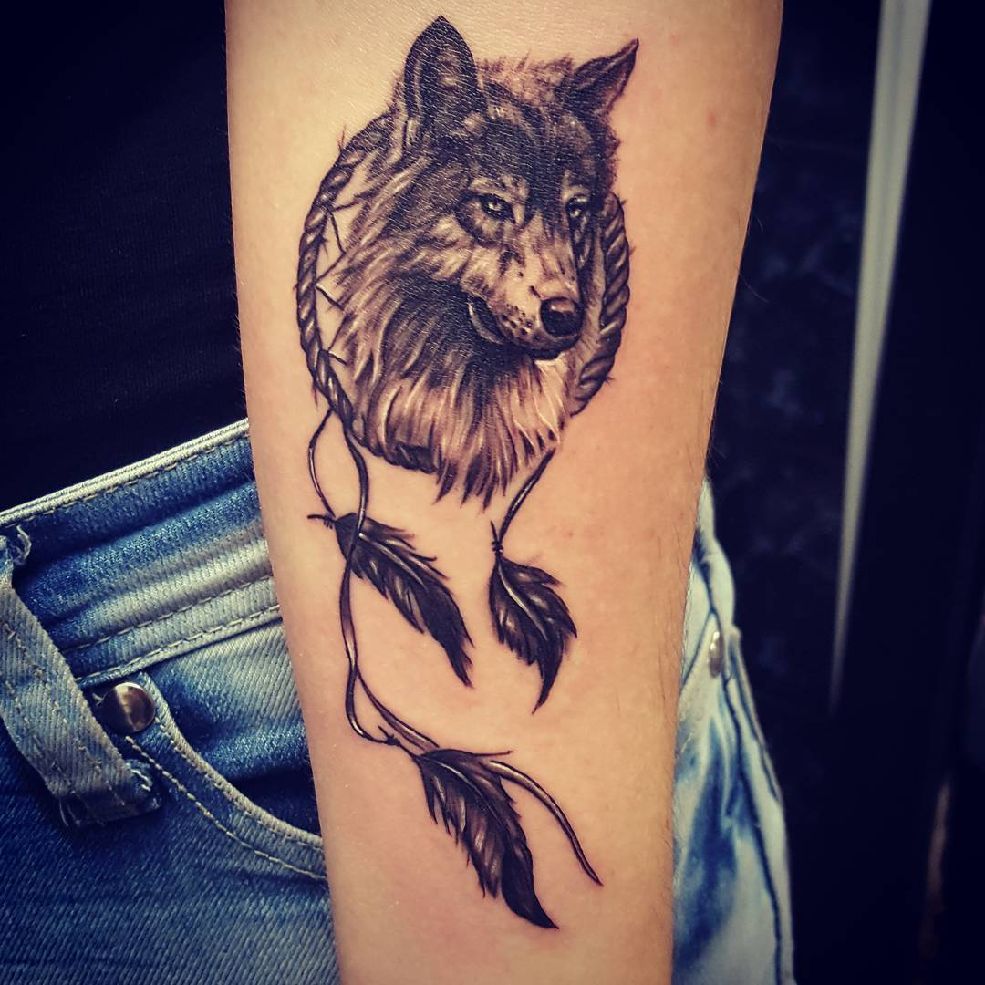 Tattoo Ideen Familie 50 Make A Powerful Style Statement With Wolf Tattoos Ideas