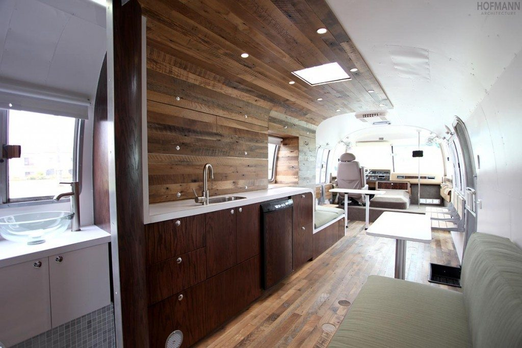 Home Kitchen Island 35 Stylish And Gorgeous Airstream Interior Design Ideas