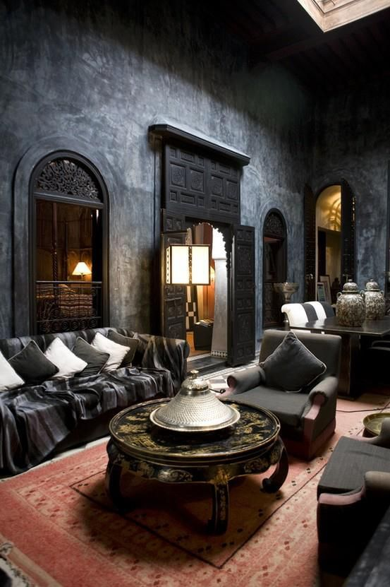 Design Shop 36 Dramatic Home Gothic Décor design Ideas That Reek Of ...