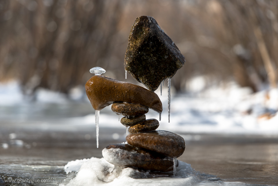 rock balancing nature Michael Grab photographie