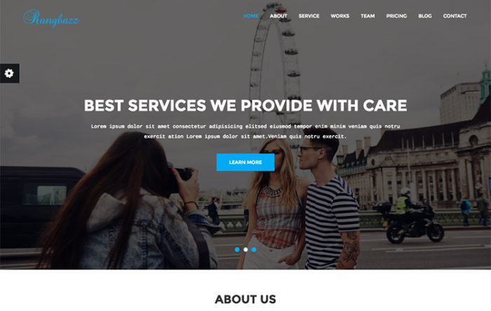 Cyprass - HTML5 Responsive Business Template GrayGrids