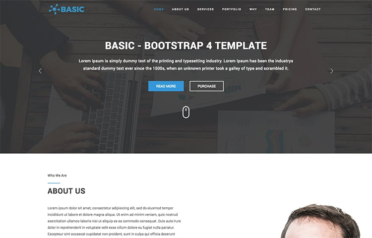 40+ Best Free One Page Bootstrap WebsiteTemplates of 2017 - bootstrap one page template