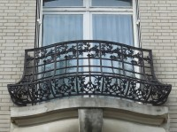 Window and balcony railings