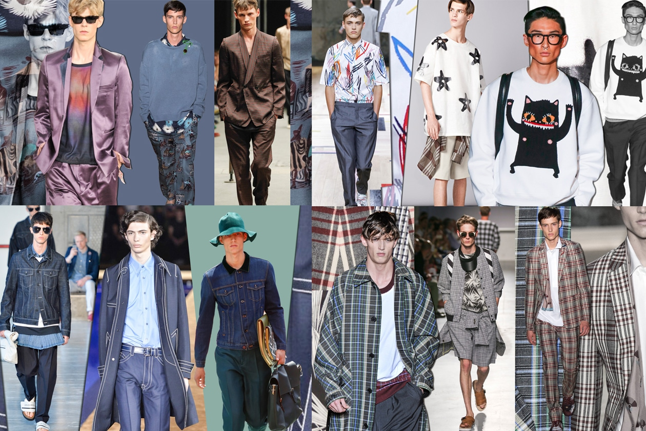 Moda Guardaroba Maschile Moda Uomo Le Tendenze Per La Primavera Estate 2015 Grazia It