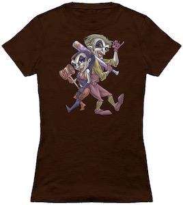 Comic Harley Quinn And The Joker T-Shirt