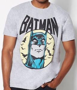 Batman Face And Bats T-Shirt