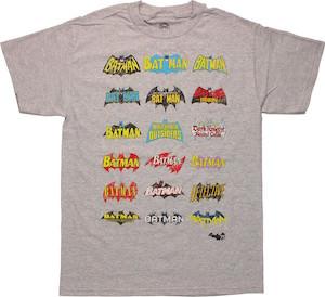 Vintage Batman Logo's T-Shirt