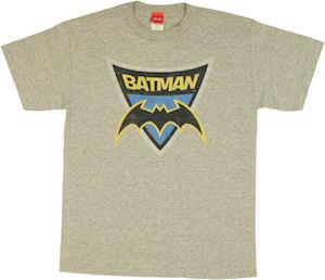 Batman Logo Shield T-Shirt