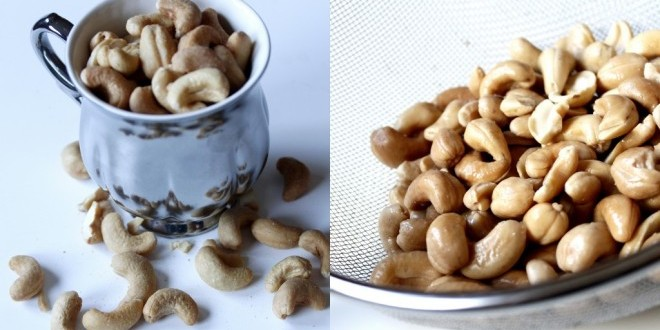 DIY: Home Made Banana Cashew Nut Milk with a Dash of Cinnamon