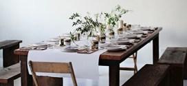 christmas dinner table settings inspiration