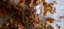 diy recipe crunchy granola gluten free and sugar free