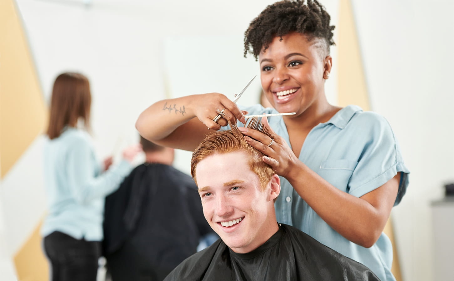 Salon Senior Haircuts For Men Women Kids Great Clips Hair Salons