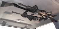 CENTER-LOK OVERHEAD GUNRACK FOR TACTICAL WEAPONS  TRUCK ...