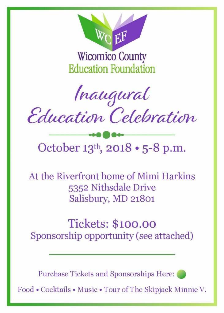 Wicomico County Education Foundation-Inaugural Celebration