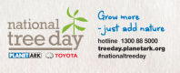 tree day logo and contact details