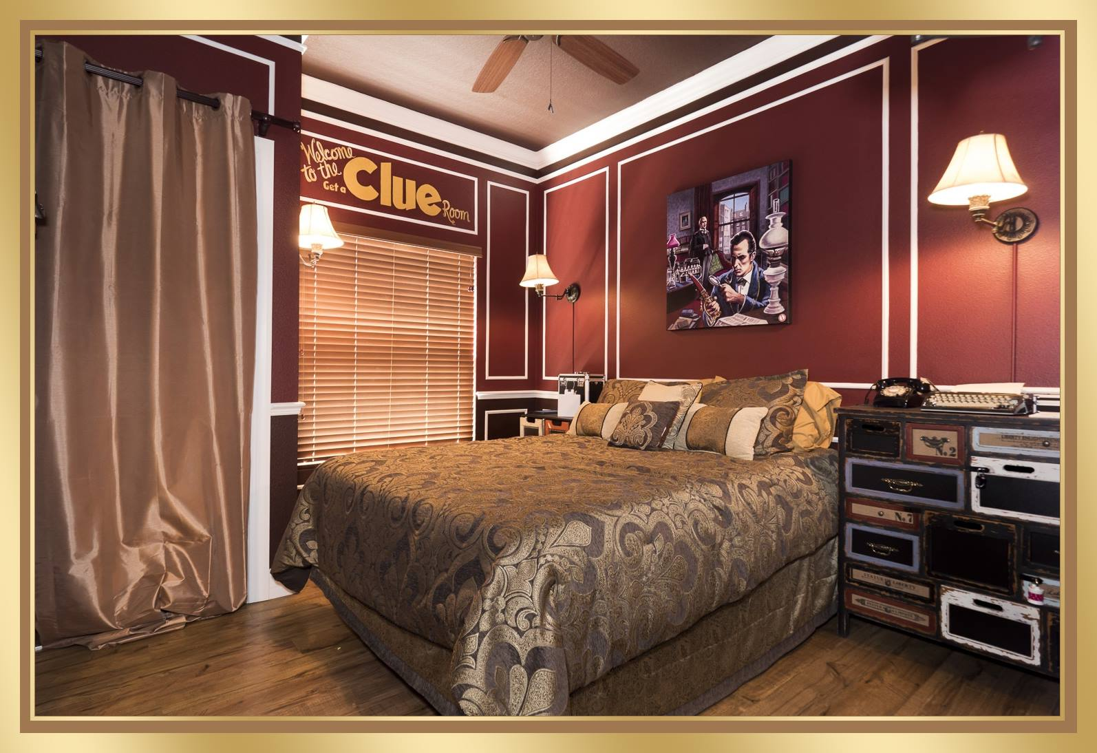 Classic Bedroom Escape The
