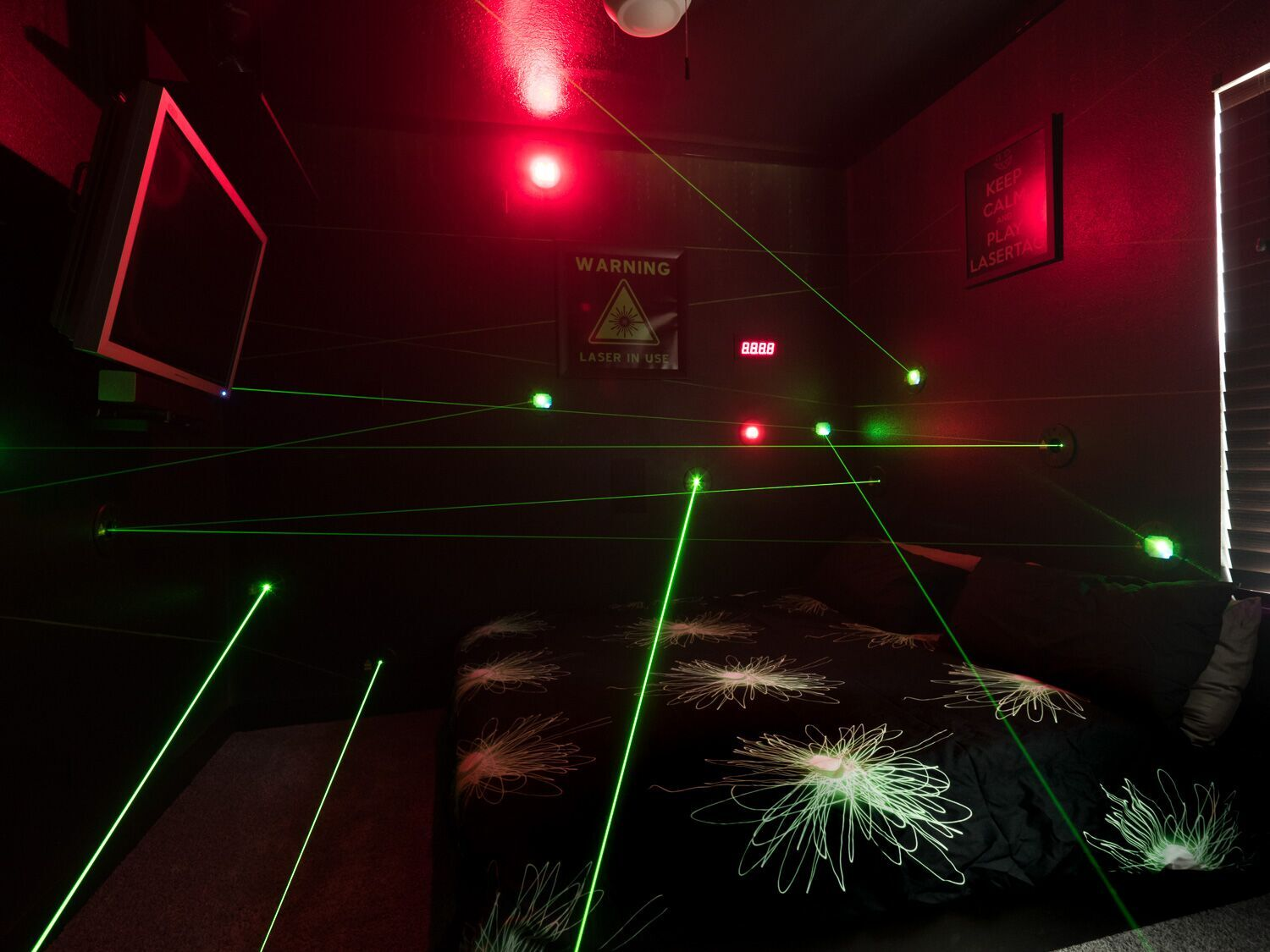 Laser Game Clermont The Laser Maze Bedroom At The Great Escape Lakeside